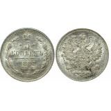 Монета 5 копеек  1888 года (СПБ-АГ) Российская Империя (арт н-32679)