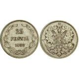 Монета 25 пенни 1902 года (L),  Финляндия в составе Российской Империи (арт н-50526)