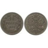 Монета 50 пенни 1908 года (L),  Финляндия в составе Российской Империи