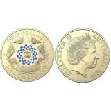 Монета 2 доллара 2019 День памяти Полиции, Австралия