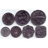Набор монет Бангладеша (7 шт.), Бангладеш.