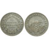 Монета 1/6 талера 1861 А Ангальт, Германия (арт н-53882)