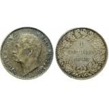 Монета 1 гульден 1843 Вюртемберг, Германия (арт н-60318)