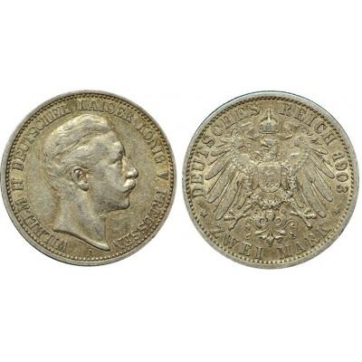 Монета 2 марки 1903 А Пруссия, Германия (арт н-53858)
