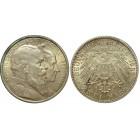 Монета 2 марки 1906 Баден, Германия (арт н-58074)