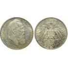 Монета 2 марки 1911 Бавария, Германия (арт н-58073)
