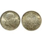 Монета  2 марки 1902 Баден, Германия (арт н-58065)