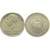 Монета 3 марки 1929 А Лессинг, Германия (арт н-58338)