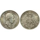 Монета 3 марки 1910 Саксония, Германия (арт н-47356)