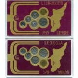 Набор монет 1993г Грузия ( в коробке)