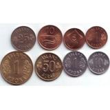 Набор монет Исландии (8 шт.). 1958-1981 гг., Исландия.