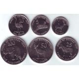Набор монет Эритреи (6 шт.), 1997 год, Эритрея.