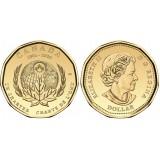 Канада 1 доллар 2020 г. 75 лет ООН