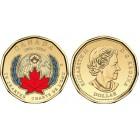 Канада 1 доллар 2020 г. 75 лет ООН (цветная)