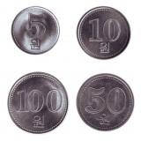 Набор монет Северной Кореи (4 шт.). 2005 год, Северная Корея.