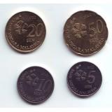Набор монет Малайзии (4 шт.). 2012 год, Малайзия.