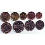 Набор монет Мозамбика (9 шт.), 2006 год, Мозамбик.