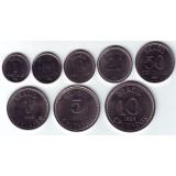 Набор монет Бразилии (8 шт.), 1986 - 1988 гг, Бразилия.