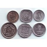 Набор монет Пакистана. (6 шт.) 1971-2013 гг., Пакистан.