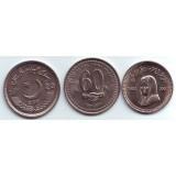 Набор монет Пакистана. (3 шт.) 2008-2011 гг., Пакистан.