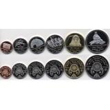 Племя Оджибве (резервация Оджибве) набор 6 монет 2019 года
