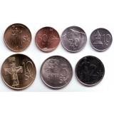 Набор монет Словакии (7 шт.), 1993 - 2007 гг., Словакия