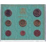 Годовой набор монет евро Ватикана в буклете. 2013 год, Ватикан.
