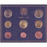 Годовой набор монет евро Ватикана в буклете. 2014 год, Ватикан.