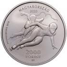 Венгрия. 2000 форинтов 2020 года. Венгерский олимпийский комитет.