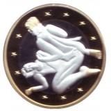 6 эросов (Sex euros). Сувенирный жетон. (Вар. 20)
