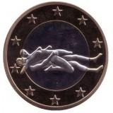 6 эросов (Sex euros). Сувенирный жетон. (Вар. 31)