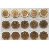 Комплект монет. Красная книга, 1991-1994 год. (15 шт.)