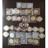 Полный набор из 36 монет 1-3-5 рублевых монет 1992-1995 гг Ельцинского периода (Россия Молодая)