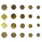 Годовой набор монет  СССР  1990 года ММД (Брак 1 рубль гуртовая надпись 1989 год) Редкий