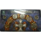 Набор разменных монет 2014 ММД  в буклете