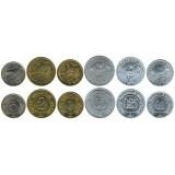 Набор монет. Россия 1998 год. Арктикуголь. (6 шт.) Шпицберген