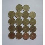 Полный набор монет 20 копеек СССР (1961-1991) 18 шт