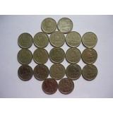 Полный набор монет 15 копеек СССР (1961-1991) 19 шт
