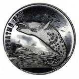 Остров Шпицберген, 2013 год Горбатый кит